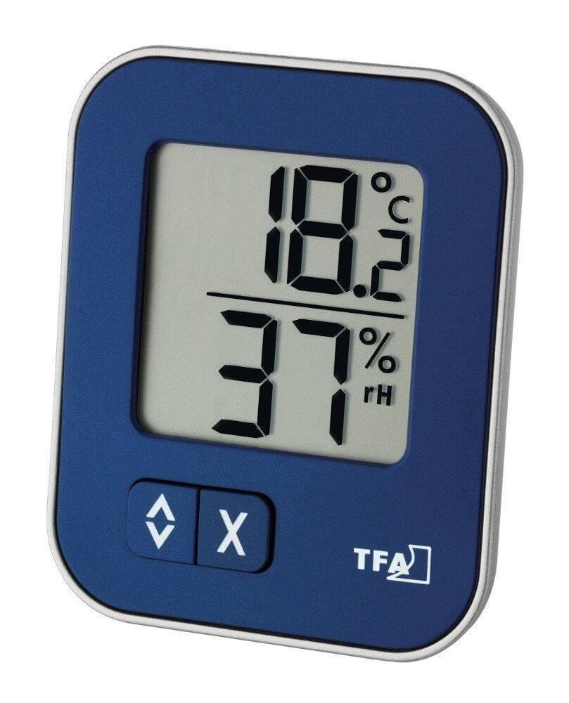 TFA 30502601 Hygrometer in blau